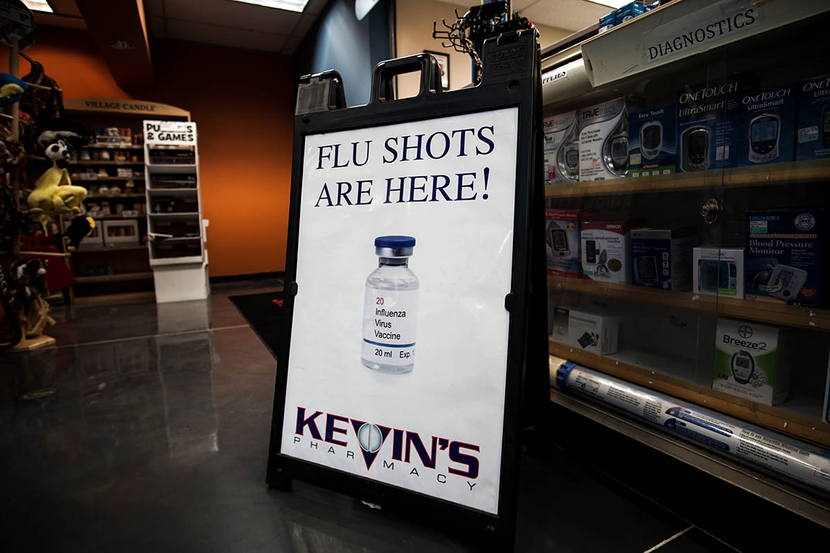 flu shots at kevins pharmacy 1